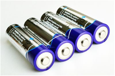 Picture Of AA Electric Batteries