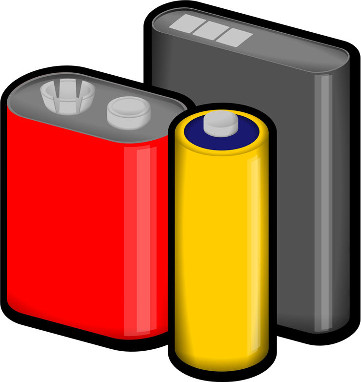 Picture Of Batteries Of Different Voltage