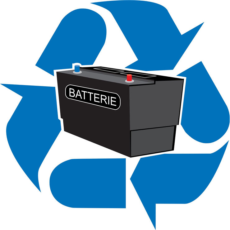 Picture Of Battery Recycled Vehicle