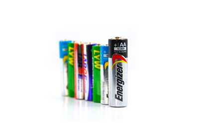 Picture Of Stack Of Batteries